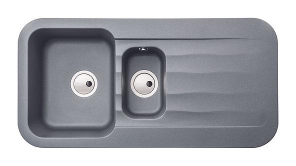 Dune b1.5 bowl composite sink & drainer
