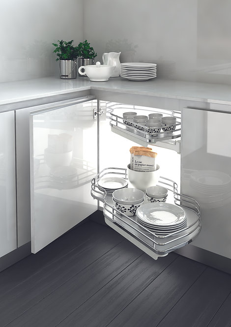 Dynamic Combi Pull Out Shelves (Chrome) - Pack of 2
