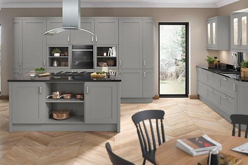 Dust Grey Elegance PVC Replacement Kitchen Doors