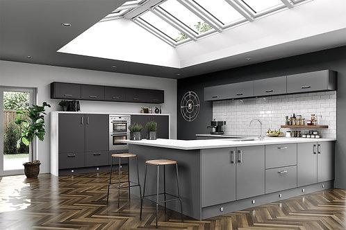Dust Grey Ultra Matt Replacement Kitchen Doors