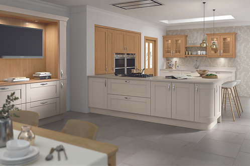 Mussel Madison Solid Wood Replacement Kitchen Doors