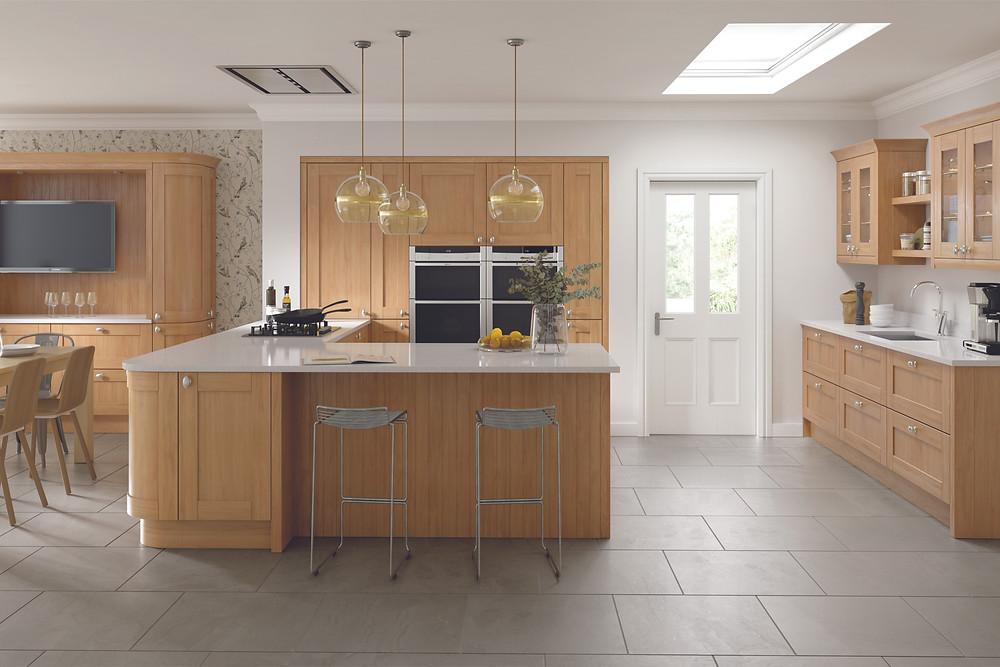 Woodgrain Replacement Kitchen Doors