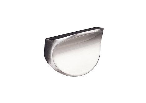 45mm Corvus knob, brushed steel