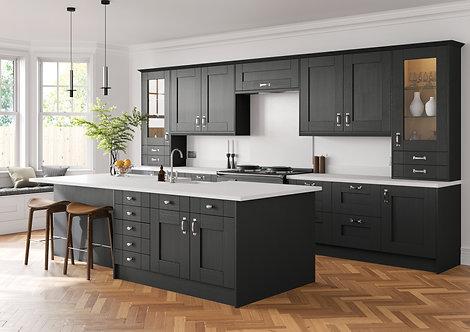 Luxury Shaker Anthracite Kitchen Doors