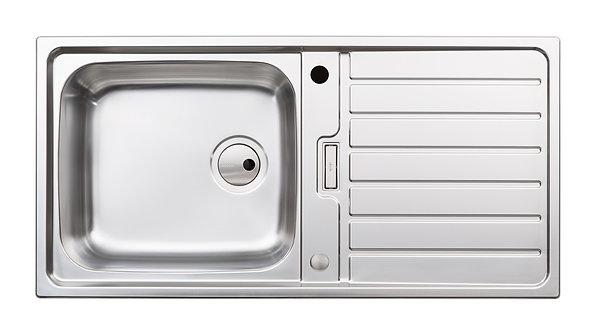 Neron 1.0 bowl stainless steel sink & drainer