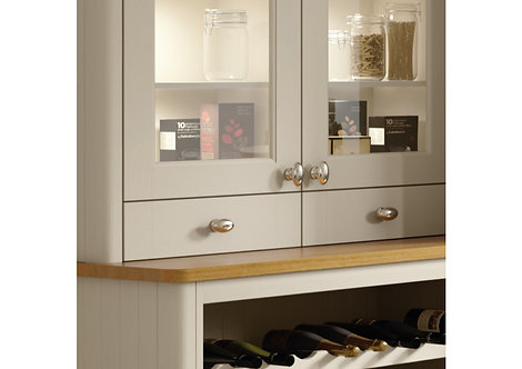 Topslide boxed dresser drawer, Grey
