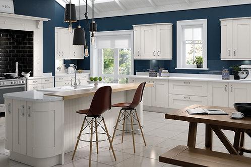 Luxury Shaker White Kitchen Doors
