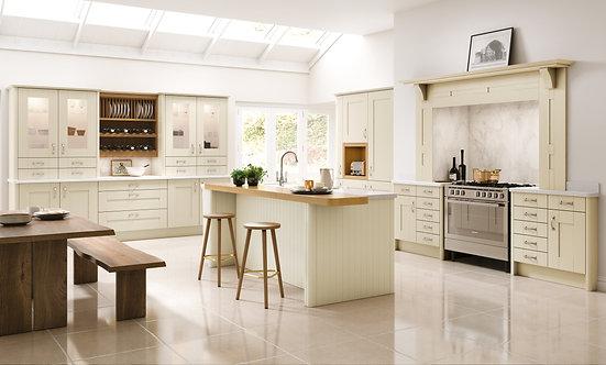 Luxury Shaker Mussel Kitchen Doors