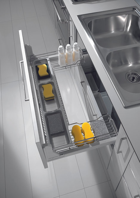 Dynamic under sink pull out base unit, 1000mm