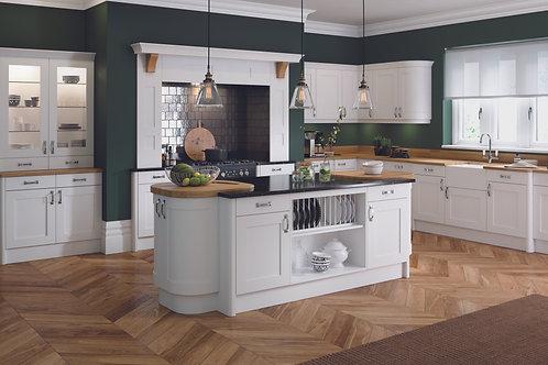 White Elegance PVC Replacement Kitchen Doors