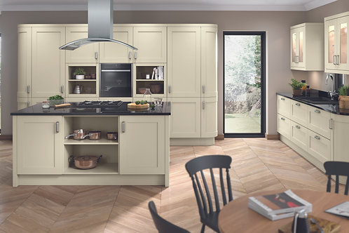 Ivory Elegance PVC Replacement Kitchen Doors