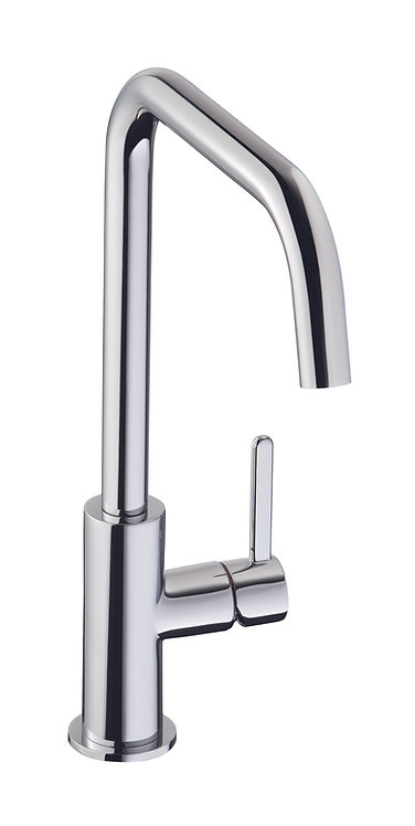 Althia single lever tap, chrome finish