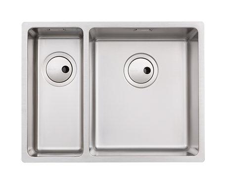 Matrix 1.5 bowl stainless steel undermount/inset sink, RH