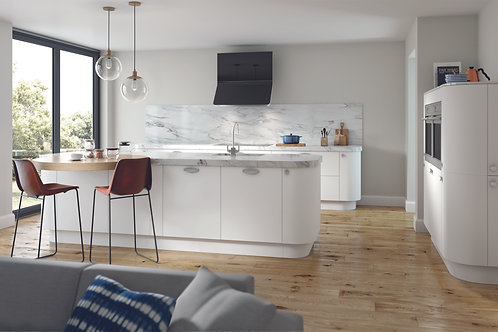 White Ultra Matt Replacement Kitchen Doors