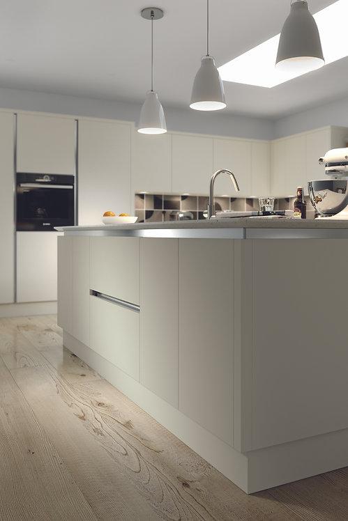 Ivory Matt Acrylic Replacement Kitchen Doors