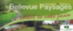 bellevue paysages logo plaquette