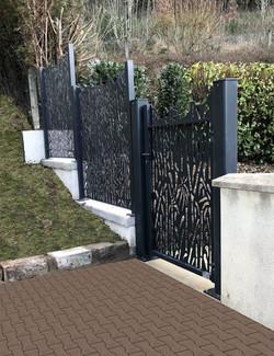 Portillon et clôture décoratifs