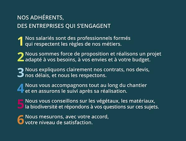 Charte UNEP engagement clientèle