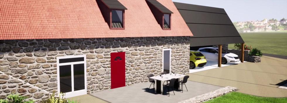 Présentation du projet d'aménagement de jardin à St Paul de Salers