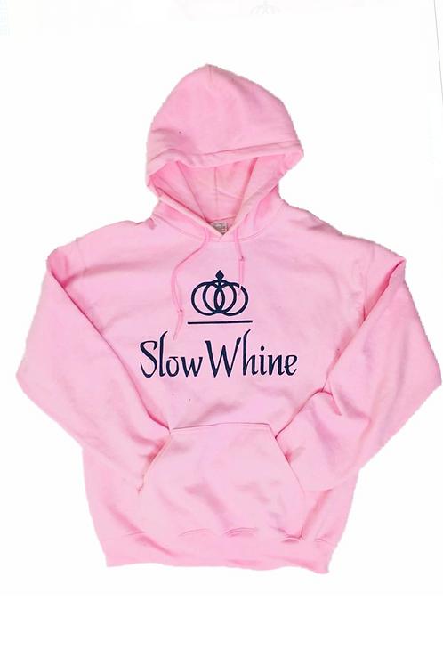 SlowWhine Origin Pink Hoodie