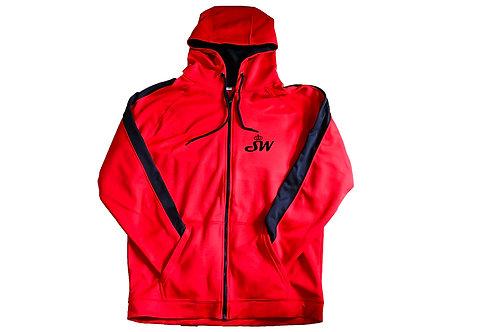 Unisex Signature Fleece (Fire Red/Jet  Black)