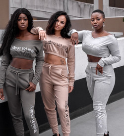 Womens Cropped Tracksuits