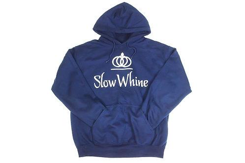 SlowWhine Origin Navy Hoodie
