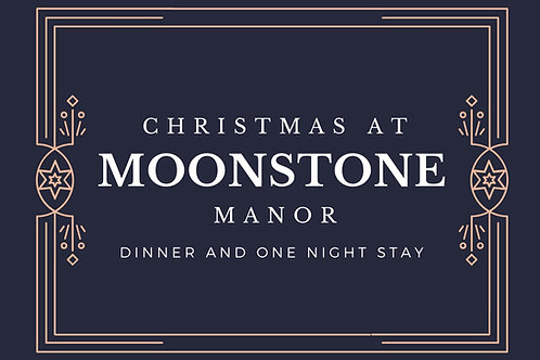 December 18, 2021 Christmas Dinner and 1 Night Stay