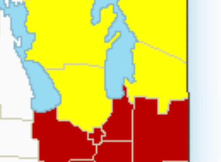 Severe thunderstorm watches in effect for Manitoba