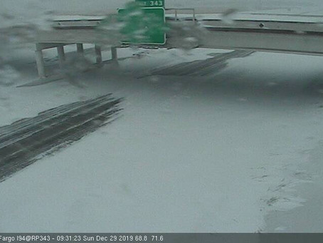 I-29 and I-94 closes in North Dakota amidst blizzard