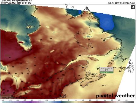 Canada Day forecast: from coast to coast