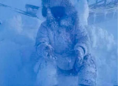 Ice fishing dedication level = expert