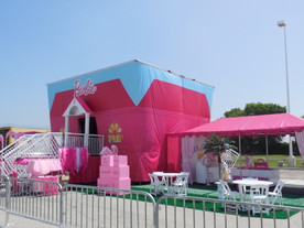 Toiles imprimées pour scène et tentes extérieures