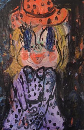 ARMEN ELOYAN Dizzy girl, 2013 oil on canvas 155 x 123,5 cm