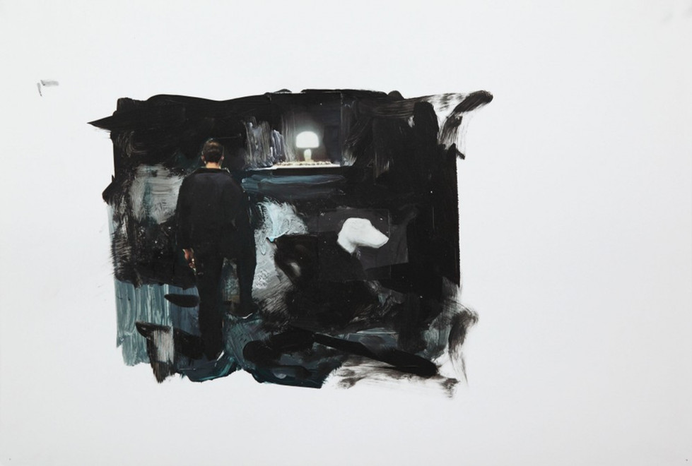 ADRIAN GHENIE, Study for The Devil 2, 2010