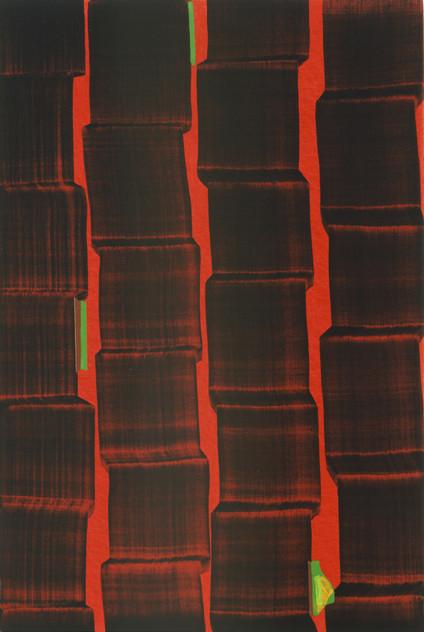 JUAN USLÉ Pa-ti-pan, 2004-2005 31 x 46 cm Vinyl, dispersion and pigments on canvas