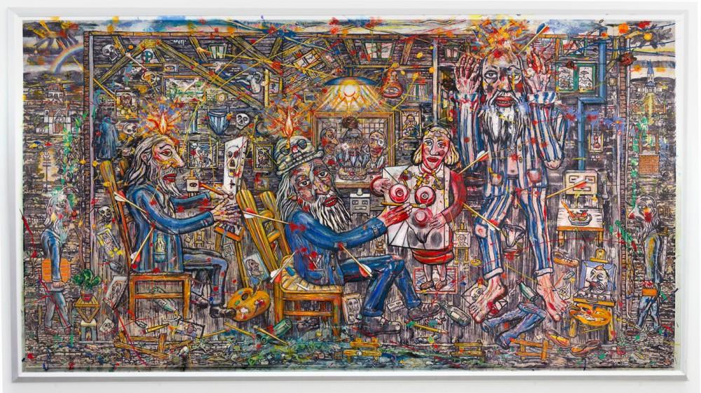 FRED BERVOETS, Het Atelier, 2011