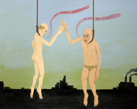 ED TEMPLETON No regrets, 2012 acrylic on canvas 122 x 152 cm