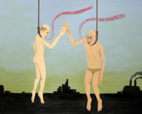 ED TEMPLETON No regrets, 2012 acrylic on canvas 122 x 152 cm