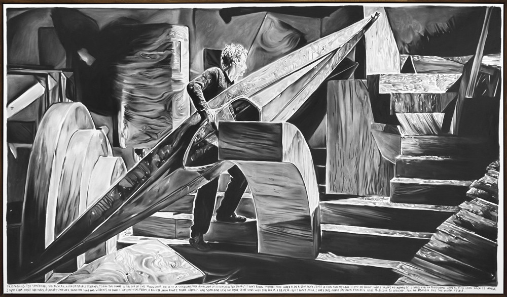 RINUS VAN DE VELDE, Preparing for something spectacular, a masterpiece perhaps…, 2015