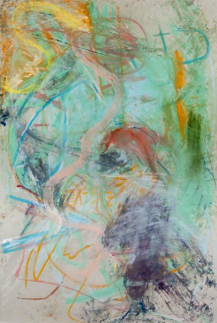 ANKE WEYER, Pastel This (3), 2018