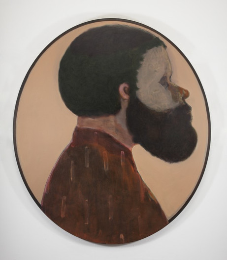 RYAN MOSLEY Shaman IV, 2011 oil on canvas backed with sailcloth 180 x 160 cm