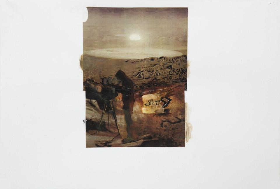 ADRIAN GHENIE, Study for Untitled, 2010