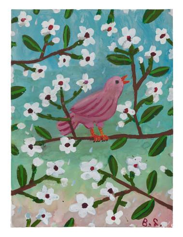 BEN SLEDSENS, Pink Bird, 2018
