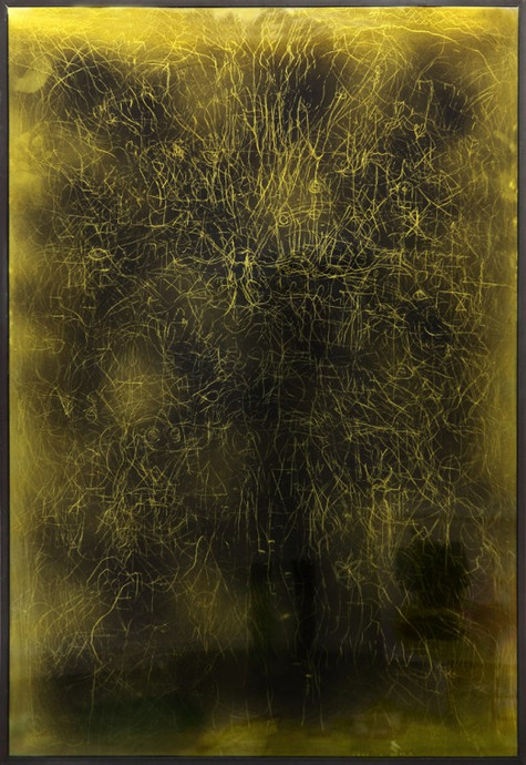 EDWARD LIPSKI, Mystical Vandalism XVII, 2015