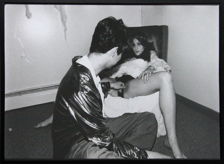 ED TEMPLETON Bam and Michelle, 1998 70 x 100 cm black and white photograph, framed