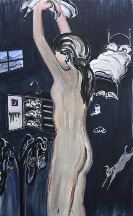ELLEN DE MEUTTER, De Blauwe kamer, 2008