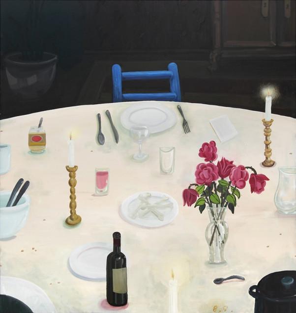 BEN SLEDSENS, Empty Plate, 2016