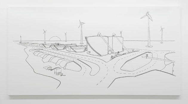 ATELIER  VAN LIESHOUT, Biogas and Watertreatment plan, 2006