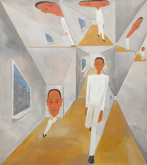 TOMASZ KOWALSKI Bez Tytulu, 2016 oil and acrylic on canvas  150 x 130 cm
